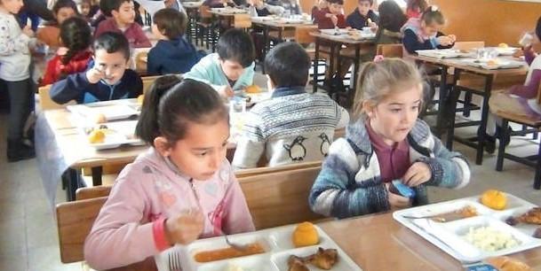 Öğrencilere Öğle Yemeği Yardımı