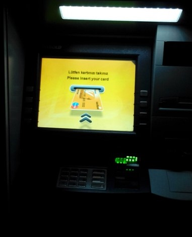Bankamatik Bakiye Sorgulama