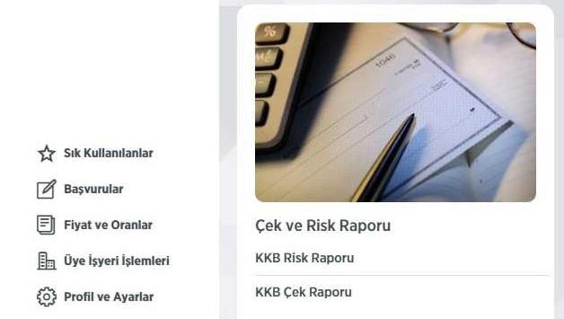 KKB Risk Raporu