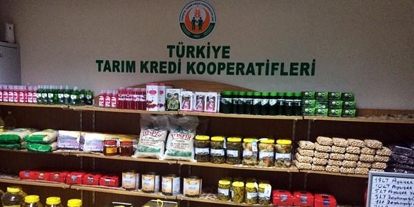 Tarım Kredi Kooperatifi Ürün Satış Mağazaları