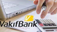 Vakıfbank Kredi Kartı Borcu Yapılandırma Kredisi 2020
