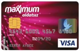 İş Bankası Aidatsız Kredi kartı