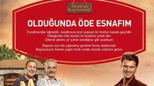 Akbank Esnafa Kredi Veriyor