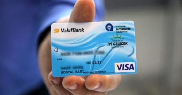 Antalya Büyükşehir Belediyesi Sosyal Kart Başvurusu