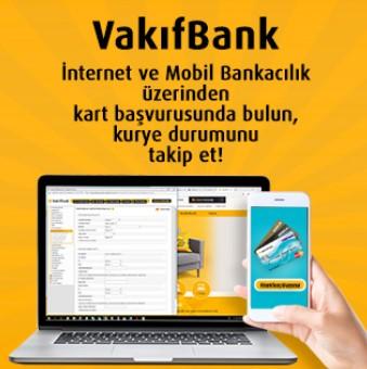 Vakıfbank Kredi Kartı Başvuru Sonucu